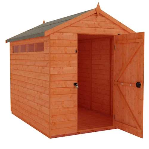Tiger Security Apex Shed