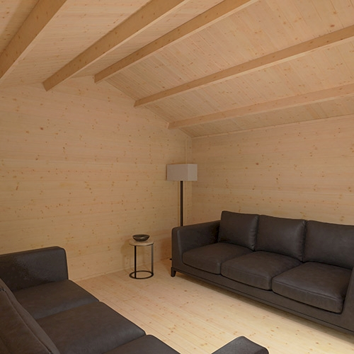 The Siberian   44mm Log Cabin