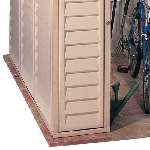 Duramax Sidemate Plastic Shed