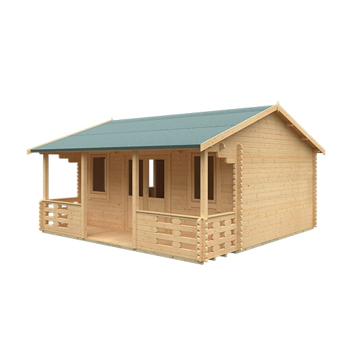 The Sigma | 44mm Log Cabin (inc. Veranda)