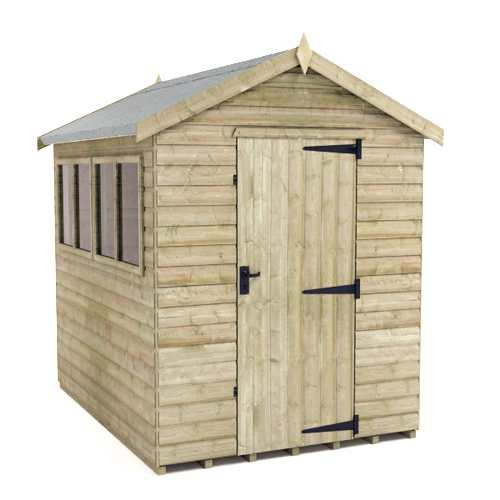 pressure treated apex shed tanalised apex sheds