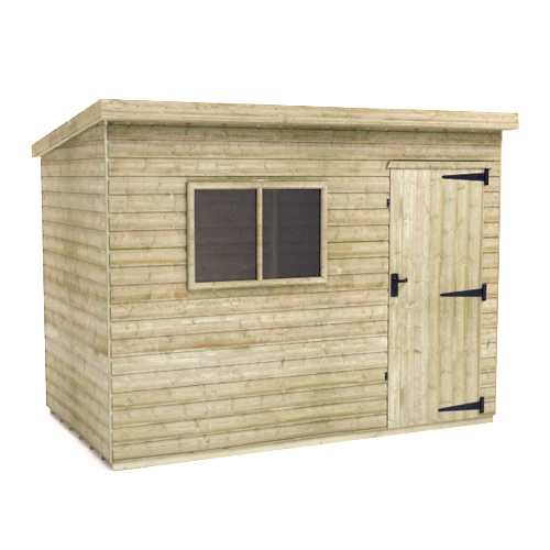 Tiger Elite Pressure Treated Pent Shed