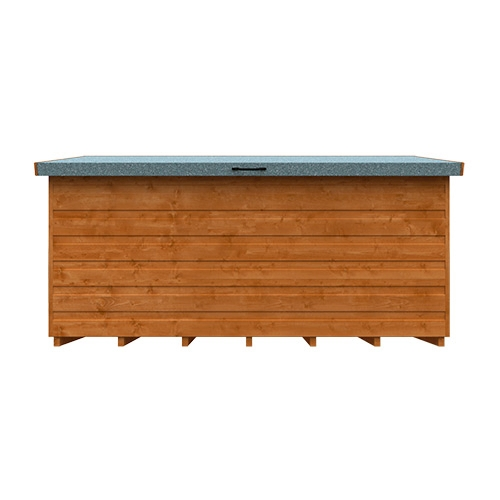 Tiger Wooden Tool Chest