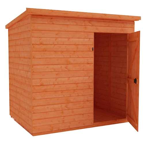 Tiger Shiplap Windowless Pent Shed