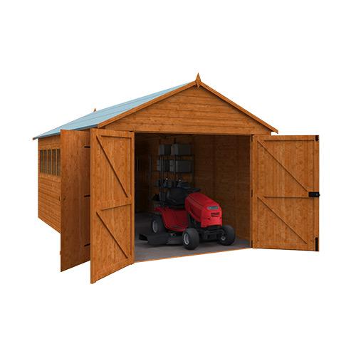 Tiger Wooden Garage