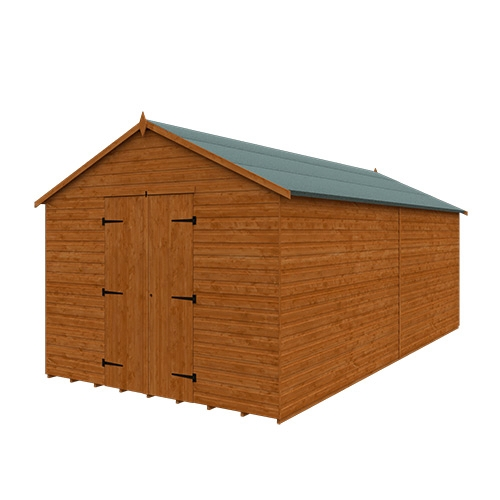 Tiger XL Heavyweight Workshop Shed