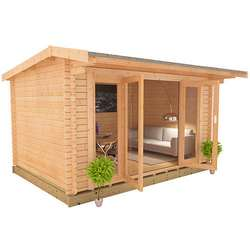 The Clara | 44mm Log Cabin