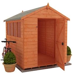 12x8 Wooden Garden Sheds | 8x12 | Tiger Sheds