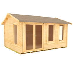 The Gamma | 44mm Log Cabin
