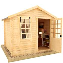 19mm Log Cabins