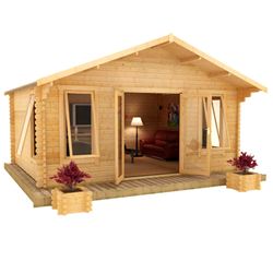 The Shere | 44mm Log Cabin