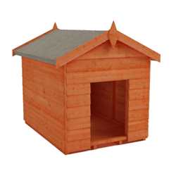 Tiger Overlap Dog Kennel