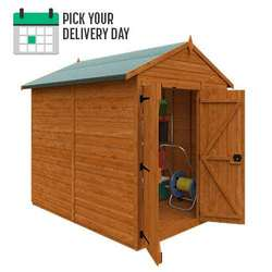 TigerFlex® Shiplap Apex Windowless Double Door Shed