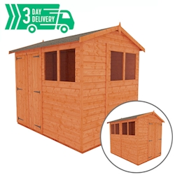 Tiger™ Double Door Flex Apex Shed