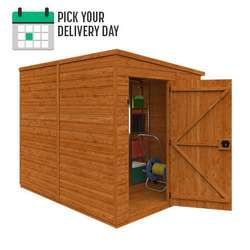 TigerFlex® Shiplap Pent Windowless Shed
