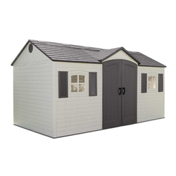 Lifetime 15 Plastic Shed