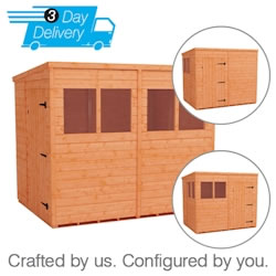 Tiger Flex Pent™ Shed