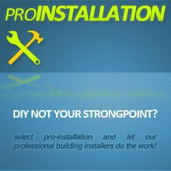 Pro-Installation (Band C1) - Building + Shingles ONLY (No Extras)
