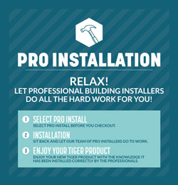 Pro-Install Building ONLY No Extras (C4)
