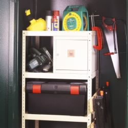Asgard Shelf Set and Lockable Unit