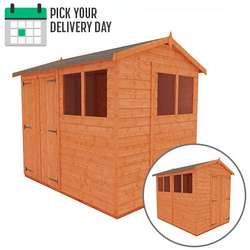 TigerFlex Shiplap Apex Double Door Shed
