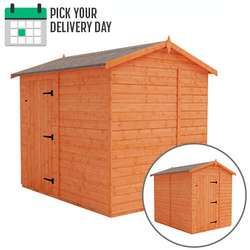 TigerFlex Shiplap Apex Windowless Shed