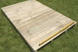 Lotus Timber Floor Kit for 6x8