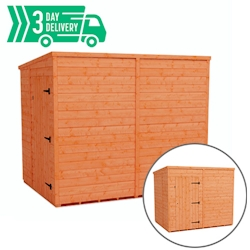 Tiger™ Flex Pent Windowless Shed