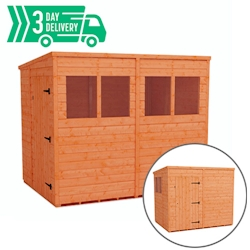 Tiger™ Flex Pent Shed