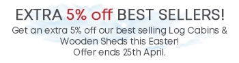 5 off 5 - Ends 25th April