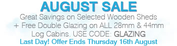 August Sale - Ends Thursday 16th August