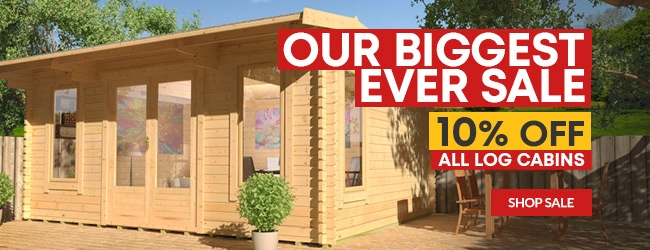Log Cabins | Garden Log Cabins For Sale | Tiger Sheds