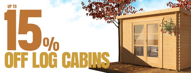 Up to 15% Off Cabins