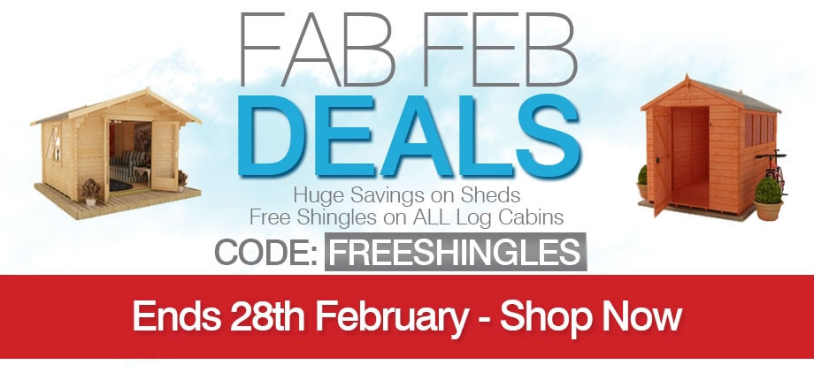 Fab Feb Deals - Ends 28th Feb