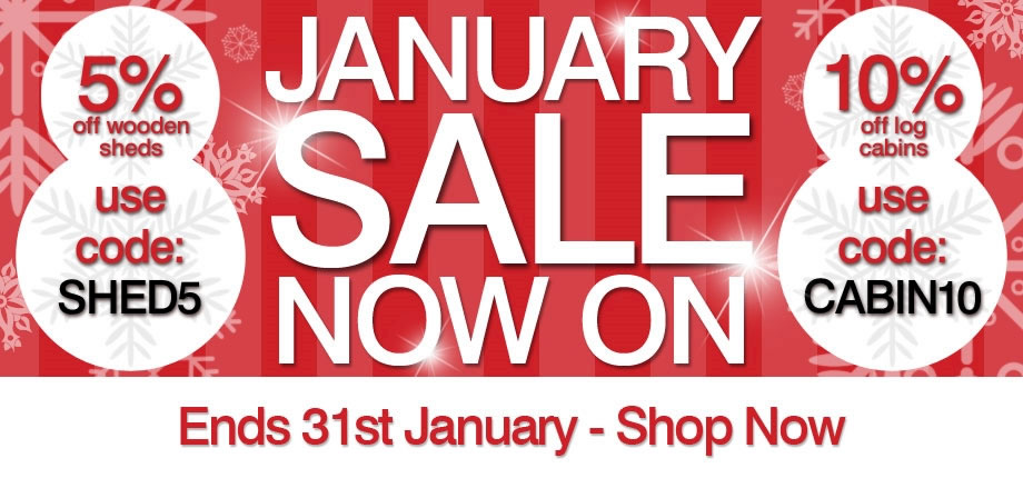 January Sale - Ends 31st January
