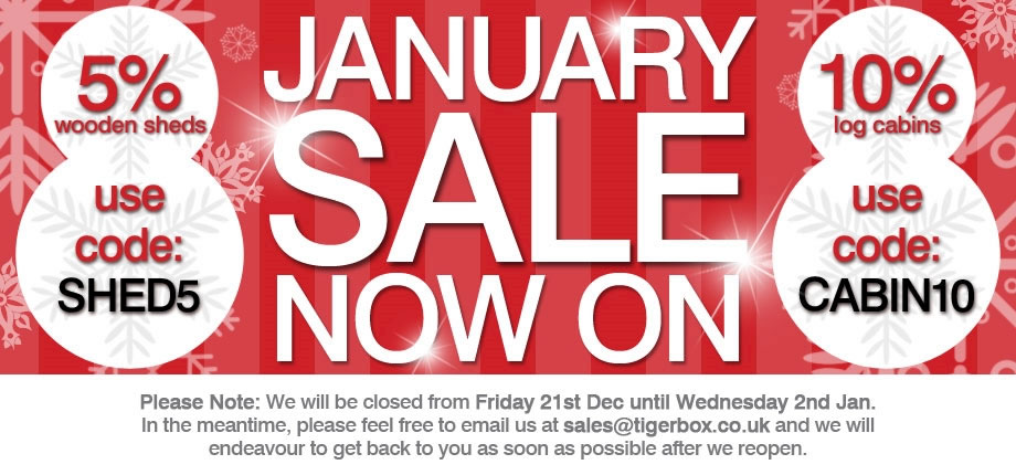 January Sale - Ends 17th January