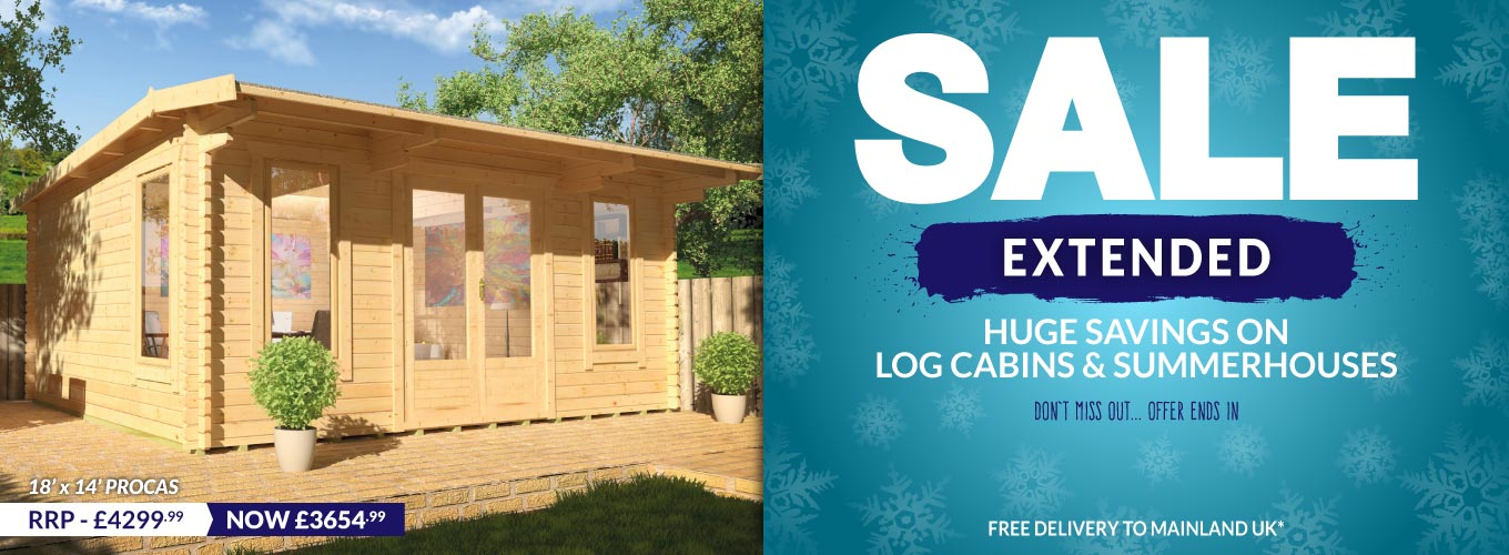 Jan Sale Extended Cabins