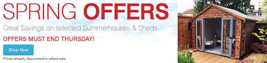 Spring Offers - Must End Thursday!