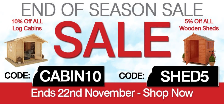 End of Season Sale - Ends 22nd November