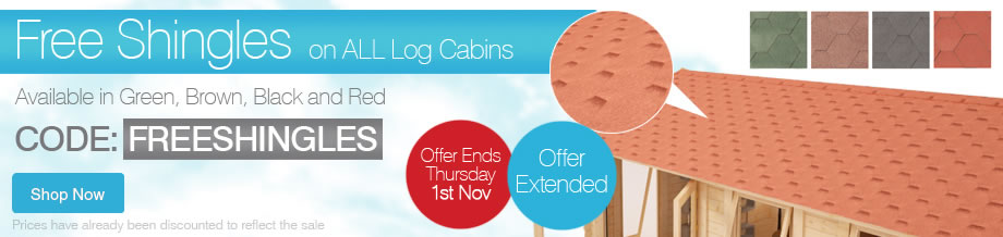 FREE SHINGLES - Ends Thursday 1st November