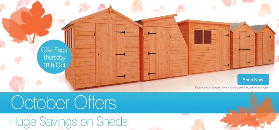 October Offers - Ends Thursday 18th October