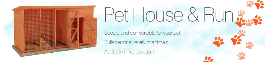 Pet House and Run