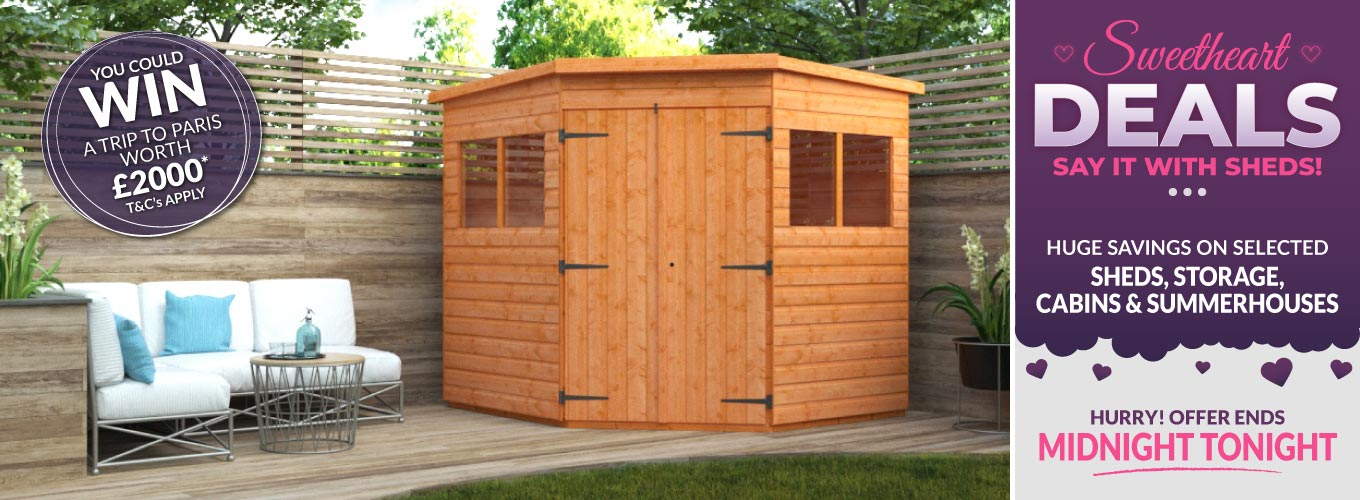 SAY IT WITH SHEDS SHEDS