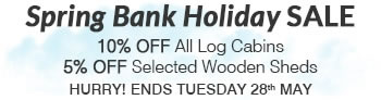 Spring Bank Holiday Sale