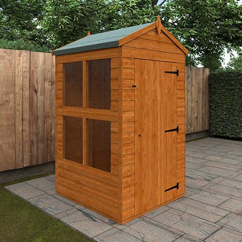 4x4w TigerFlex® Shiplap Apex Sunroom