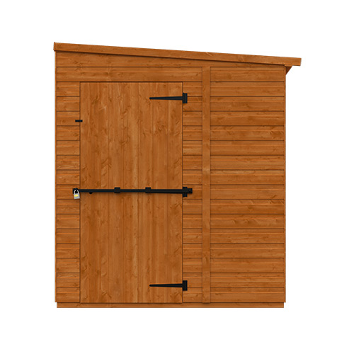 TigerFlex® Pent Security Shed 8x6w - Front