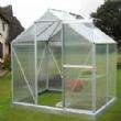 The 12x10 Supreme Greenhouse in Brown. Adding a colour to your Greenhouse will raise the life expectancy to 25 years