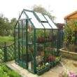 A 6x5 Streamline, with Green Powder Coat and Full sheet Toughened Glass