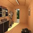 Alpha Barn Interior