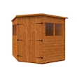 Tiger Deluxe Corner Shed Right